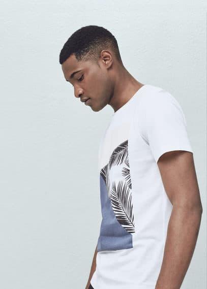 T-shirt coton image | MANGO MAN