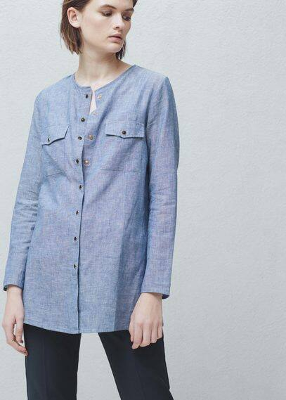 Camisa lino | MANGO