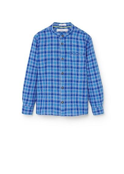 Kareli koton tişört