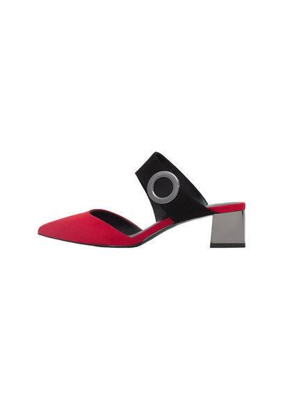 Chaussures À Talons Métallisés - À pointe, Empiècement métallique, Effet métallisé, Talon de 4,5 cm