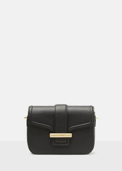 Cross-body pebbled bag | VIOLETA BY MANGO