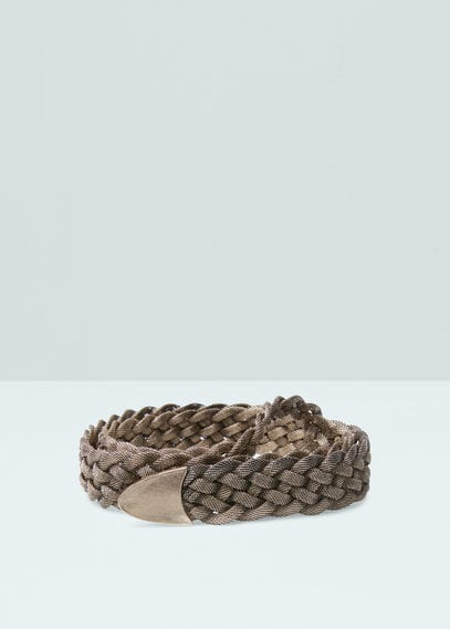 Braided chain belt | MANGO