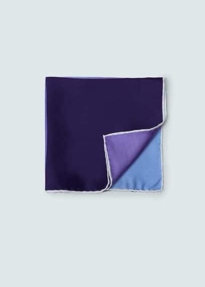 Silk pocket square | MANGO MAN