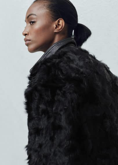 Fur coat | MANGO