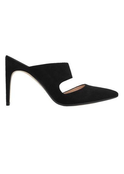Chaussures À Talons Avec Bride Arrière - À bride arrière, détail d'ouverture, talon fin, talon de 9,5 cm.