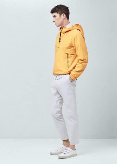 Pantalon chino coton | MANGO MAN