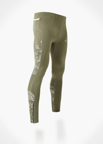Calças malha compridas running fechos | MANGO MAN