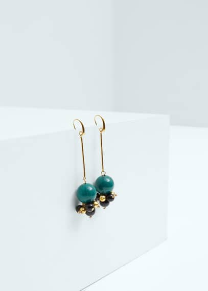 Mixed pieces earrings | MANGO