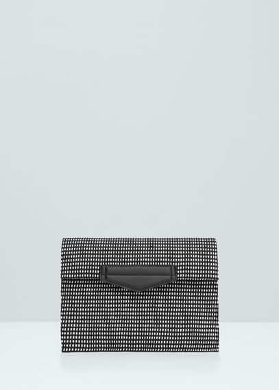İki renkli zarf çanta | MANGO