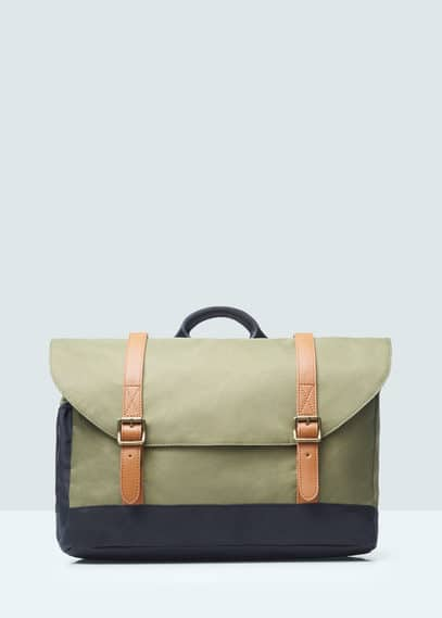 Nylon cross-body bag | MANGO MAN
