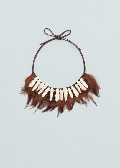 Tribal necklace | MANGO