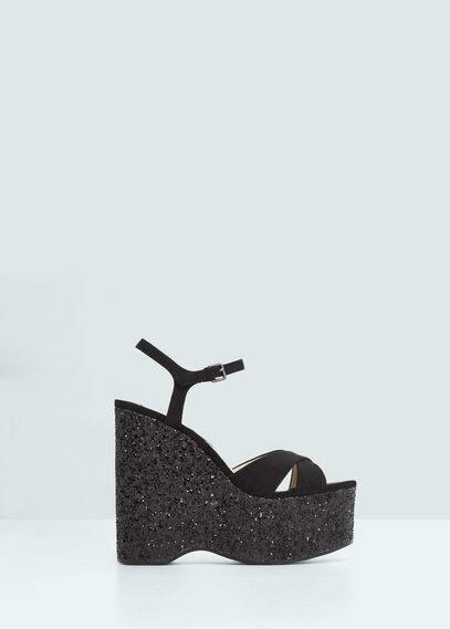 Platform strap sandals | MANGO