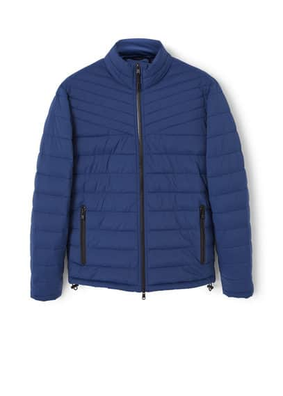 Ultra-light quilted coat