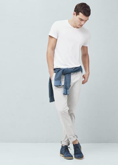 Chino slim-fit coton | MANGO MAN