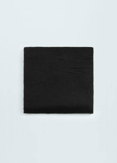 Foulard à texture rayée | MANGO