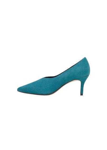 Chaussures À Talon Cuir - À pointe, talon de 6,5 cm.