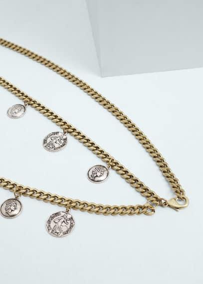Coins chain belt | MANGO