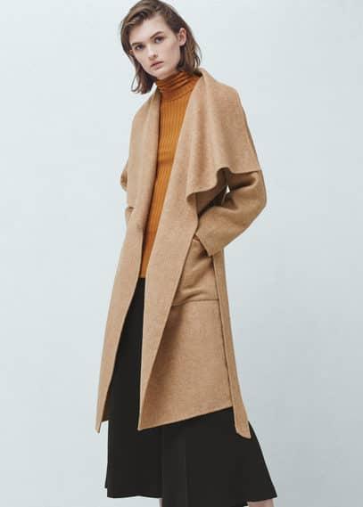 手工大衣 | MANGO
