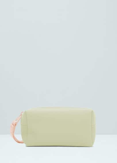 Zip cosmetic bag | MANGO