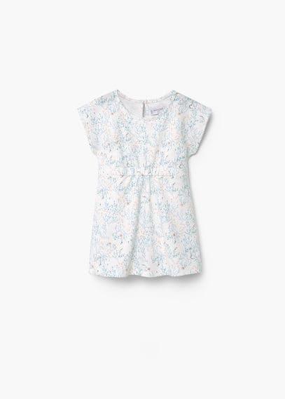 Vestito stampa floreale | MANGO KIDS