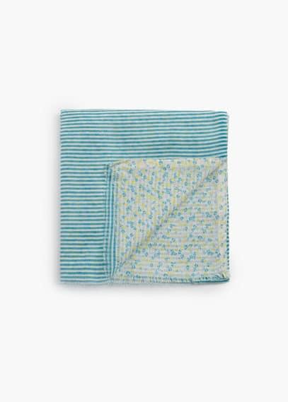 Cotton scarf   MANGO KIDS