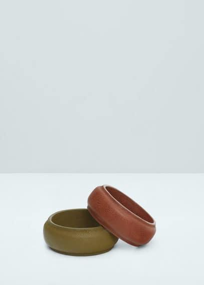 2 pack bracelet | MANGO