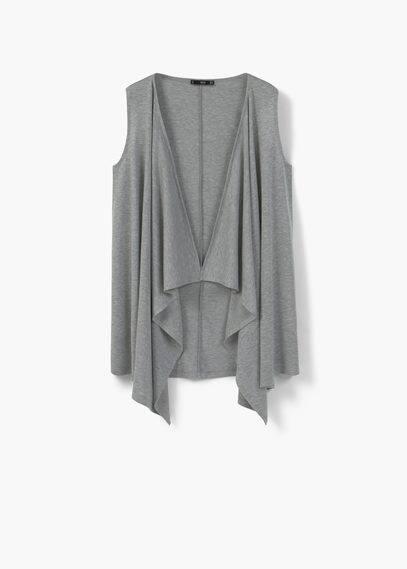 Light knit gillet | MANGO