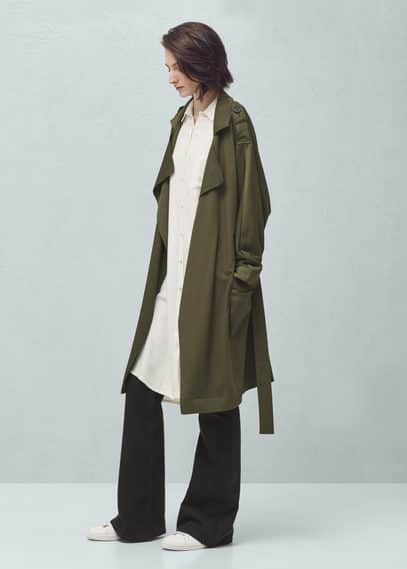 Trench fluide | MANGO