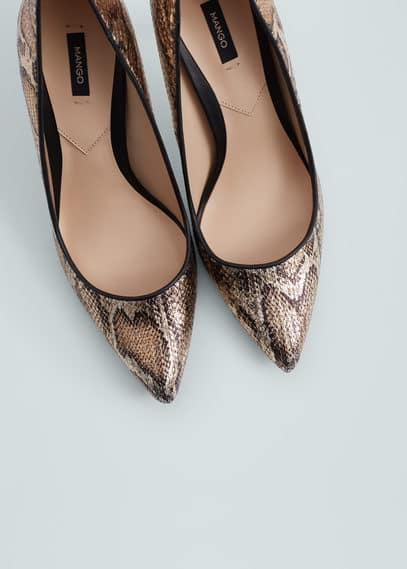 Pumps met animalpatroon | MANGO