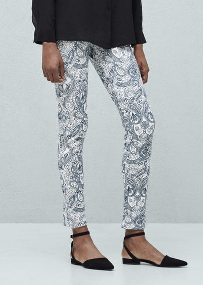Paisley leggings | MANGO