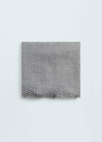 Écharpe texture rayures | MANGO