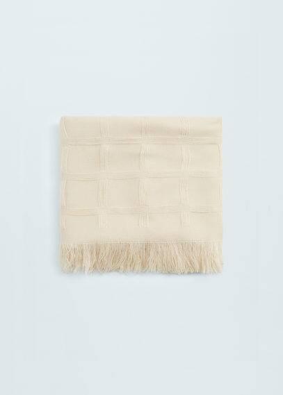 Fulard quadres | MANGO