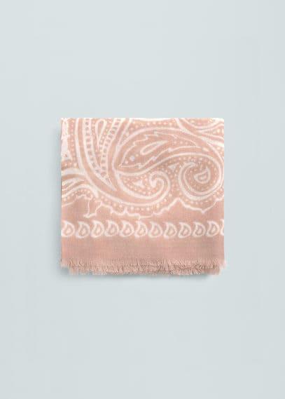Fulard estampat | MANGO