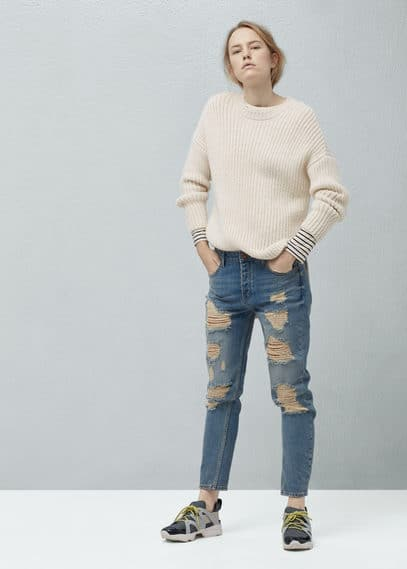 Sweater escalon | MANGO