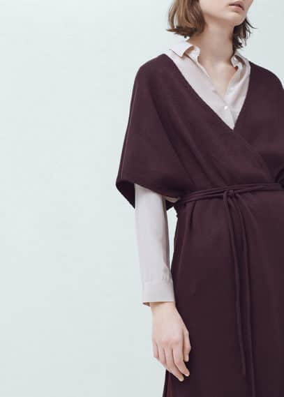 Adjustable cord sweater | MANGO