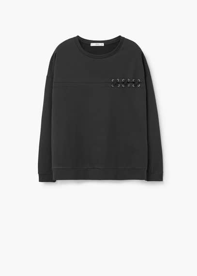Sweatshirt -- hole | MANGO