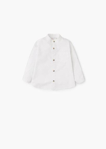 Camicia cotone stampata | MANGO KIDS