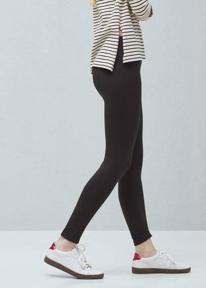 Leggings básicos algodón | MANGO