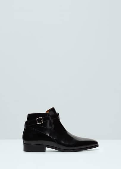Buckle ankle boots | MANGO MAN