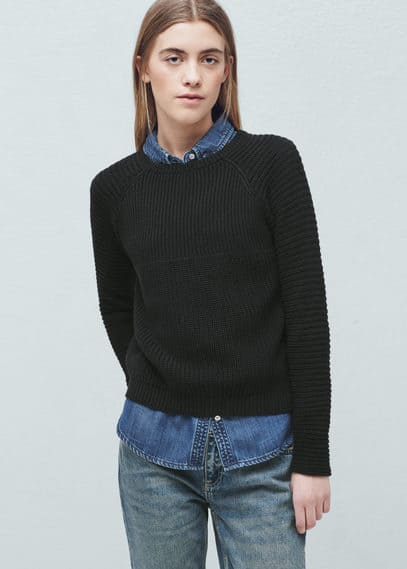 Cotton sweater | MANGO