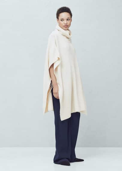 Side cords cape | MANGO