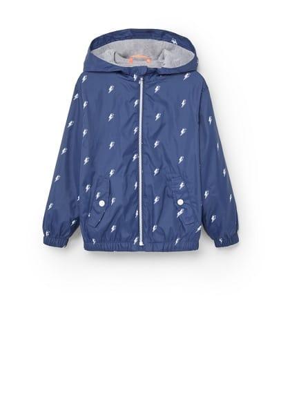 Su geçirmez desenli ceket