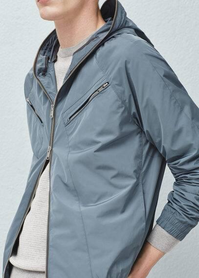 Two-way zipper jacket | MANGO MAN