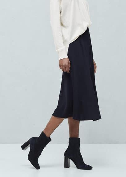 Flowy skirt | MANGO