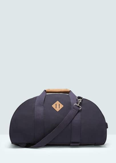 Bolso convertible en mochila | MANGO MAN