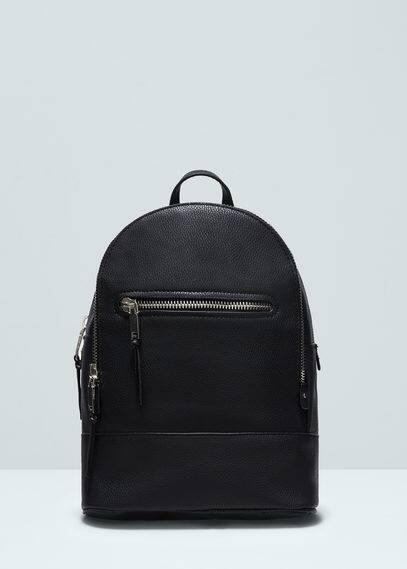Rucksack mit reißverschluss | MANGO