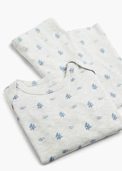 Pyjama coton bio | MANGO KIDS