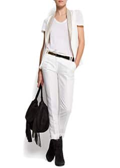 Cropp trousers at waist