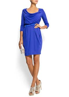 Three quarter sleeves dress