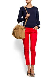 Cropped super slim jeans